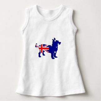 Australian Flag - Chihuahua Dress