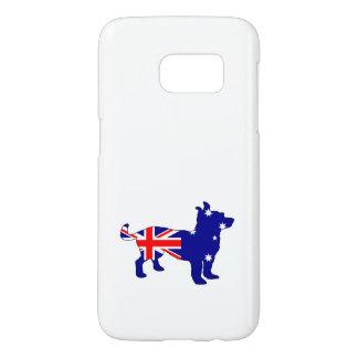 Australian Flag - Chihuahua Samsung Galaxy S7 Case