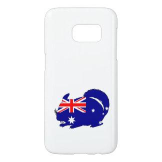 Australian Flag - Chinchilla Samsung Galaxy S7 Case