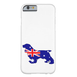 Australian Flag - Cocker Spaniel Barely There iPhone 6 Case
