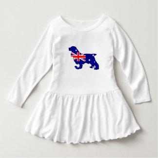 Australian Flag - Cocker Spaniel Dress