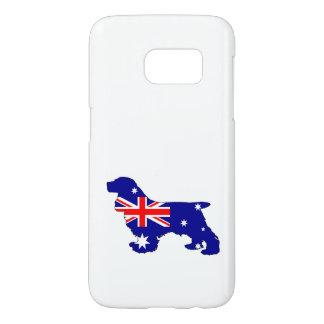 Australian Flag - Cocker Spaniel Samsung Galaxy S7 Case