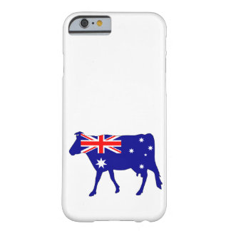 Australian Flag - Cow Barely There iPhone 6 Case