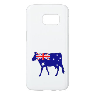 Australian Flag - Cow Samsung Galaxy S7 Case