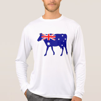 Australian Flag - Cow T-Shirt