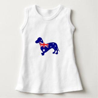 Australian Flag - Dachshund Dress