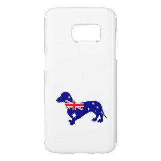 Australian Flag - Dachshund Samsung Galaxy S7 Case