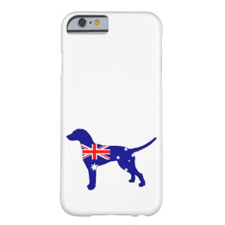 Australian Flag - Dalmatian Barely There iPhone 6 Case