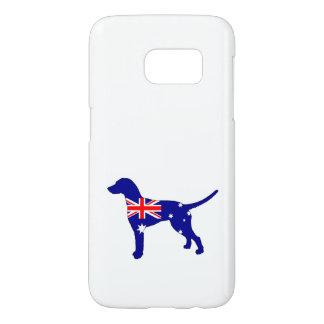 Australian Flag - Dalmatian Samsung Galaxy S7 Case