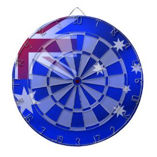 Australian flag dartboard