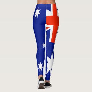 Australian Flag Design Leggings