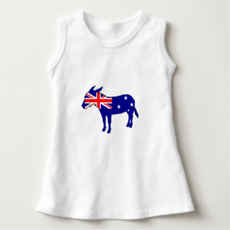 Australian Flag - Donkey Dress