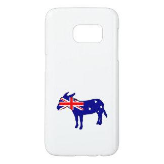 Australian Flag - Donkey Samsung Galaxy S7 Case