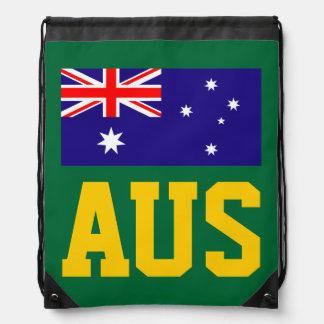 Australian flag drawstring bag | Aussie backpack