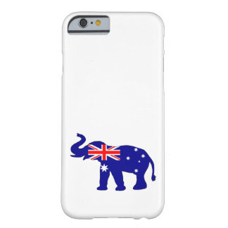 Australian Flag - Elephant Barely There iPhone 6 Case