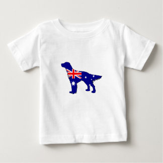 Australian Flag - English Setter Baby T-Shirt