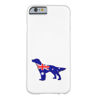 Australian Flag - English Setter Barely There iPhone 6 Case