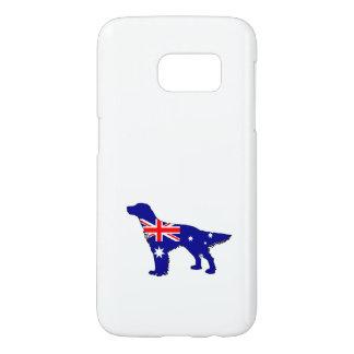 Australian Flag - English Setter Samsung Galaxy S7 Case