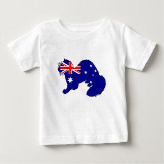 Australian Flag - Ferret Baby T-Shirt