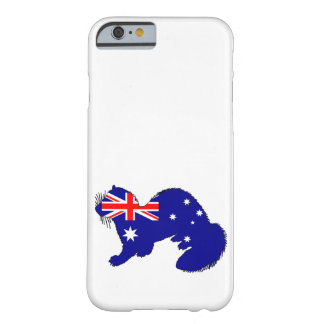 Australian Flag - Ferret Barely There iPhone 6 Case