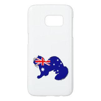 Australian Flag - Ferret Samsung Galaxy S7 Case