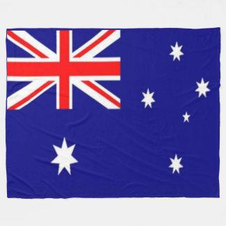 AUSTRALIAN FLAG FLEECE BLANKET