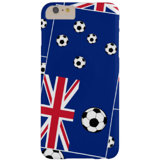 Australian Flag Football Barely There iPhone 6 Plus Case