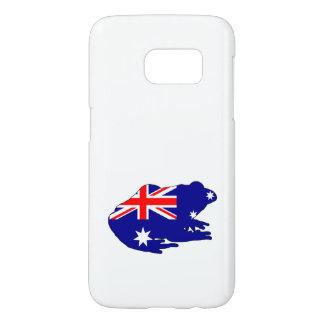 Australian Flag - Frog Samsung Galaxy S7 Case