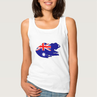 Australian Flag - Frog Tank Top