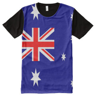 Australian Flag full All-Over-Print T-Shirt