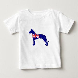 Australian Flag - Great Dane Baby T-Shirt