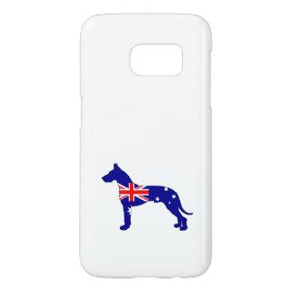 Australian Flag - Great Dane Samsung Galaxy S7 Case