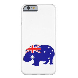 Australian Flag - Hippopotamus Barely There iPhone 6 Case