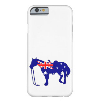 Australian Flag - Horse Barely There iPhone 6 Case