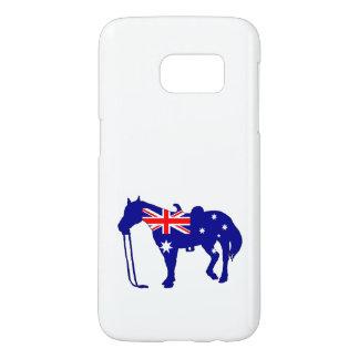 Australian Flag - Horse Samsung Galaxy S7 Case