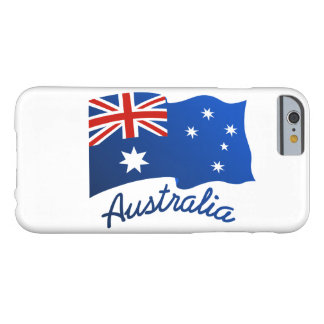 Australian flag in the wind barely there iPhone 6 case