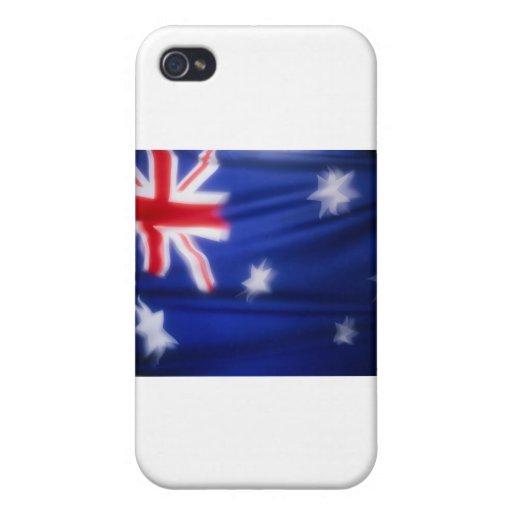 Australian Flag Cases For iPhone 4