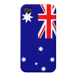 Australian Flag iPhone Case Covers For iPhone 4