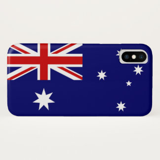 Australian Flag iPhone X Case