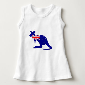 Australian Flag - Kangaroo Dress