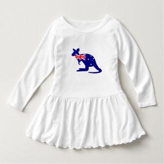 Australian Flag - Kangaroo Dress