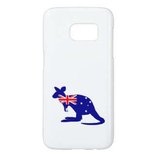 Australian Flag - Kangaroo Samsung Galaxy S7 Case