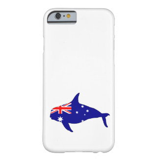 Australian Flag - Killer Whale Grampus Orca Barely There iPhone 6 Case