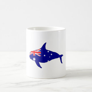 Australian Flag - Killer Whale Grampus Orca Coffee Mug