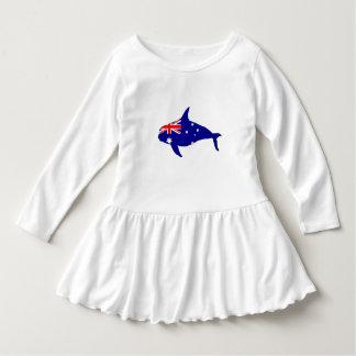 Australian Flag - Killer Whale Grampus Orca Dress