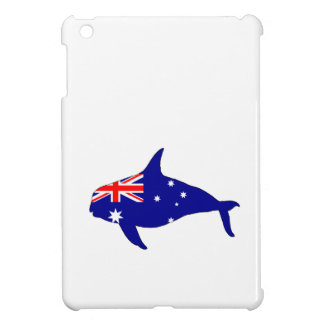 Australian Flag - Killer Whale Grampus Orca iPad Mini Cover