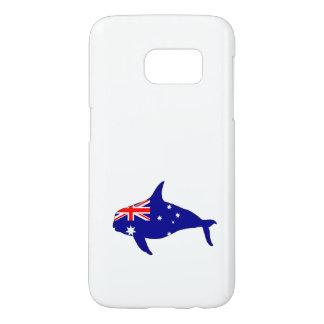 Australian Flag - Killer Whale Grampus Orca Samsung Galaxy S7 Case