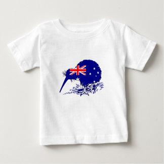 Australian Flag - Kiwi Bird Baby T-Shirt