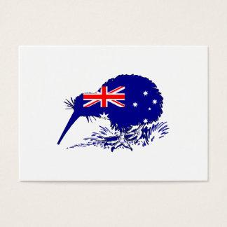 Australian Flag - Kiwi Bird Business Card
