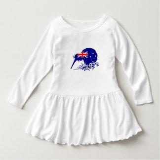 Australian Flag - Kiwi Bird Dress